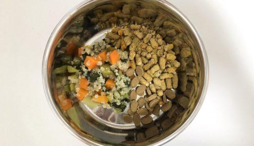 手作りワンコご飯!キヌアと野菜のおじやレシピ