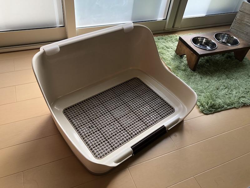 犬用トイレトレーの写真