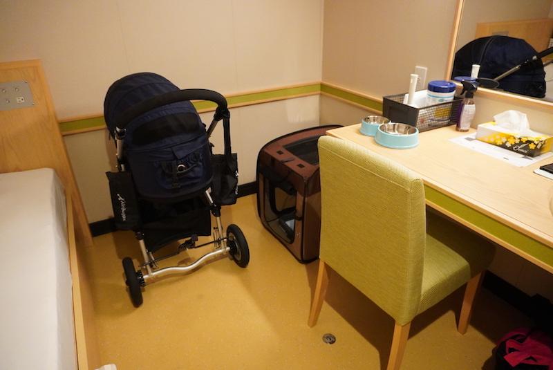 オレンジフェリーのペットウィズルームの部屋の中の写真
