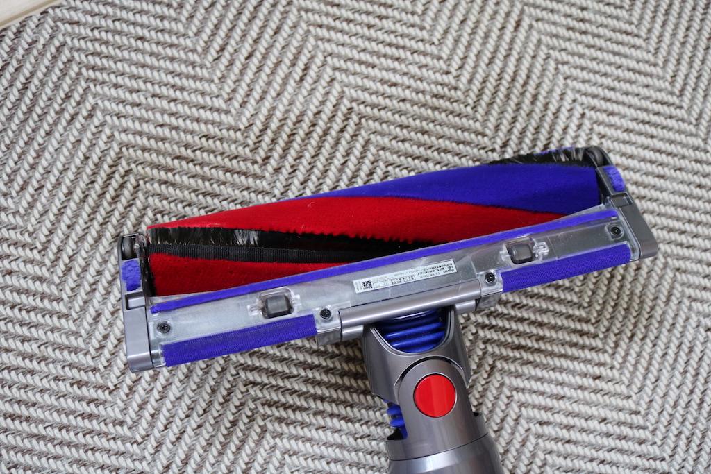 ダイソンの掃除機のヘッドの画像