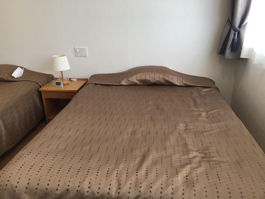 ラハイナのふかふかのベッドの写真です。